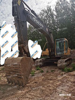 山西-太原市二手沃尔沃EC210BLC挖掘机实拍照片
