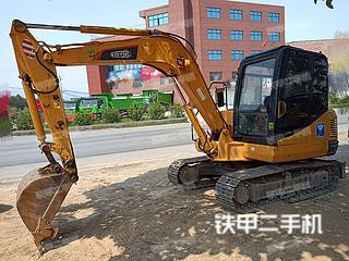 雷沃重工FR65V8挖掘機實拍圖片