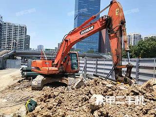 安徽-合肥市二手斗山DH225LC-7挖掘机实拍照片