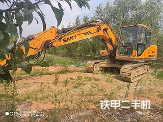 湖南-益阳市二手三一重工SY135C挖掘机实拍照片