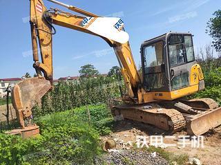雷沃重工FR65E挖掘機實拍圖片