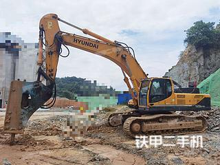 撫州現代R485LC-9T挖掘機實拍圖片