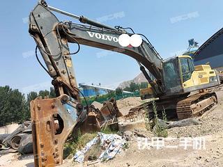 許昌沃爾沃EC480DL挖掘機實拍圖片
