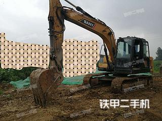 四川-眉山市二手三一重工SY135C挖掘机实拍照片