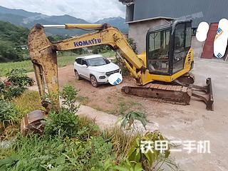 云南-普洱市二手小松PC56-7挖掘机实拍照片