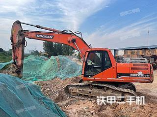 安徽-马鞍山市二手斗山DH215-9E挖掘机实拍照片