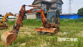 江西-南昌市二手斗山DH60-7挖掘机实拍照片