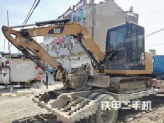 安徽-蚌埠市二手卡特彼勒306E2小型液压挖掘机实拍照片