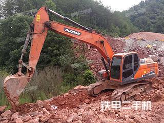安徽-黄山市二手斗山DX215-9C挖掘机实拍照片