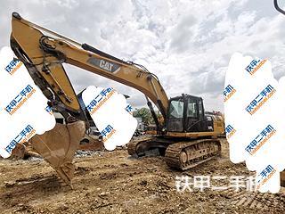卡特彼勒329D挖掘機實拍圖片