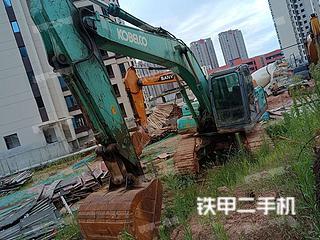 撫州神鋼SK200-8挖掘機實拍圖片
