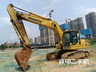 湖南-长沙市二手小松PC200-8挖掘机实拍照片