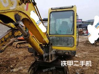 現代R55-7挖掘機實拍圖片
