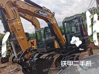 普洱三一重工SY55C挖掘機實拍圖片