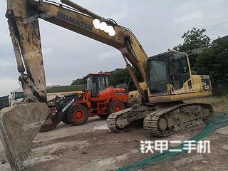 湖南-湘潭市二手小松PC200-8挖掘机实拍照片