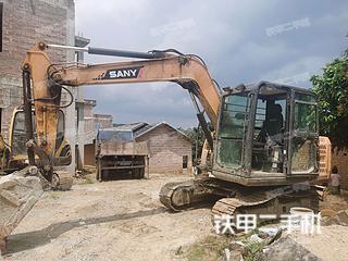 玉林三一重工SY65C挖掘機實拍圖片