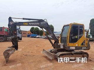 沃爾沃EC55B-Pro挖掘機實拍圖片