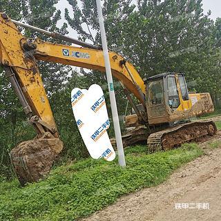 徐工XE230C挖掘機實拍圖片