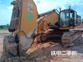 撫州卡特彼勒349DL液壓挖掘機實拍圖片