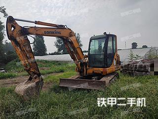 安徽-蚌埠市二手龙工LG6060挖掘机实拍照片