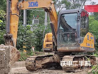 徐工XE75D挖掘机实拍图片