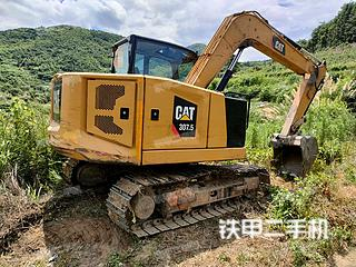 佛山卡特彼勒307.5小型液壓挖掘機實拍圖片