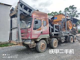国产移动破车载重锤移动破移动破碎站实拍图片