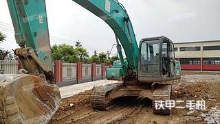 四川-德阳市二手神钢SK250-8挖掘机实拍照片