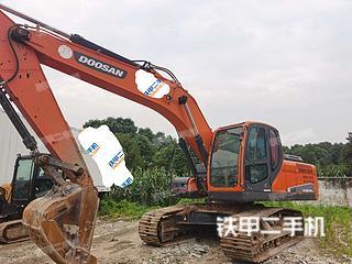 湖北-武汉市二手斗山DX215-9C挖掘机实拍照片