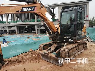 河南-济源市二手三一重工SY55C挖掘机实拍照片