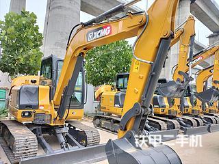 河南-郑州市二手徐工XE60DA PLUS挖掘机实拍照片