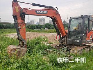 陕西-西安市二手斗山DX60-9C GOLD挖掘机实拍照片