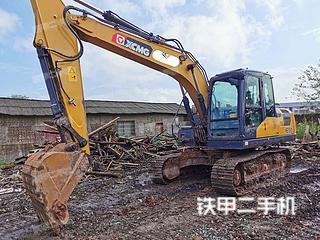四川-广安市二手徐工XE135D挖掘机实拍照片