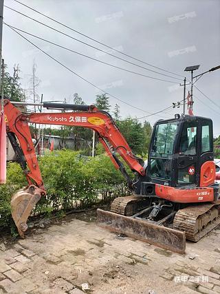 陕西-西安市二手久保田KX155-5挖掘机实拍照片