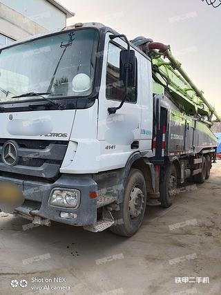 中聯重科ZLJ5419THB 52X-6RZ泵車實拍圖片