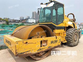 陕西-西安市二手山推SR22MP压路机实拍照片
