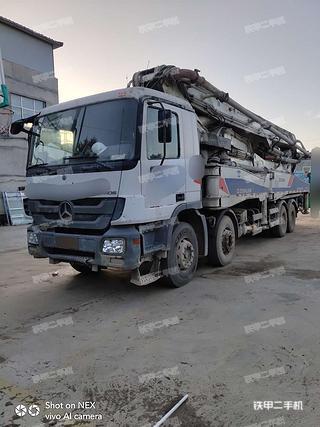 中聯重科ZLJ5415THB52泵車實拍圖片