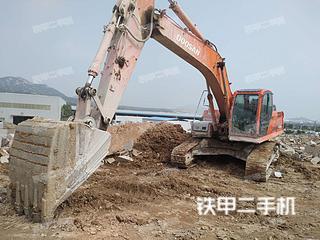 山东-日照市二手斗山DX260LC挖掘机实拍照片