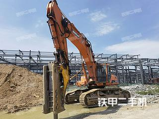 斗山DH500LC-7挖掘機實拍圖片