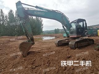 陕西-商洛市二手神钢SK250-8挖掘机实拍照片