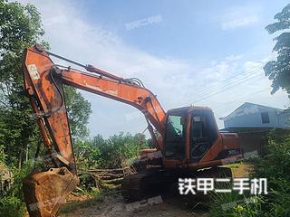 湖南-岳阳市二手斗山DH150LC-7挖掘机实拍照片