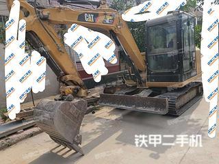 卡特彼勒305.5E2小型液壓挖掘機實拍圖片