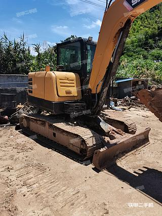 浙江-绍兴市二手三一重工SY60C挖掘机实拍照片