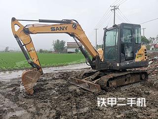 江苏-扬州市二手三一重工SY55C挖掘机实拍照片