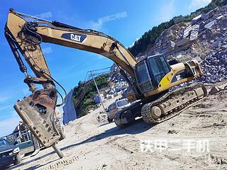 卡特彼勒336D液壓挖掘機實拍圖片