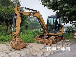 江苏-南京市二手卡特彼勒305.5E2小型液压挖掘机实拍照片