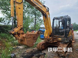 江西-宜春市二手柳工CLG906D挖掘机实拍照片