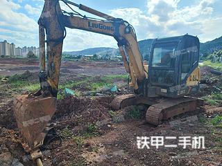江西-新余市二手柳工CLG906D挖掘机实拍照片