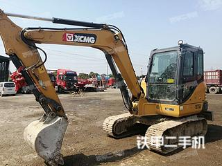 陕西-西安市二手徐工XE60DA挖掘机实拍照片