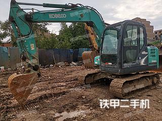 云南-曲靖市二手神钢SK75-8挖掘机实拍照片